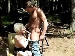 Redhead mature fucks n gets facial