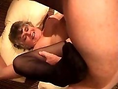 Mature has oral and fucks w two men
