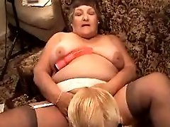 Mature sucks two big cocks n fucks