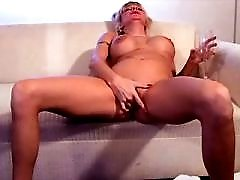 Blond mature has fuck in all poses