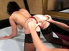 Mom has hot anal and facial