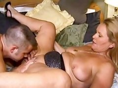 Two hot milfs sucking n riding cock