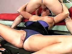 Hot mature has fuck and gets facial