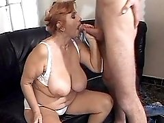 Cutie milf fucks on table in office